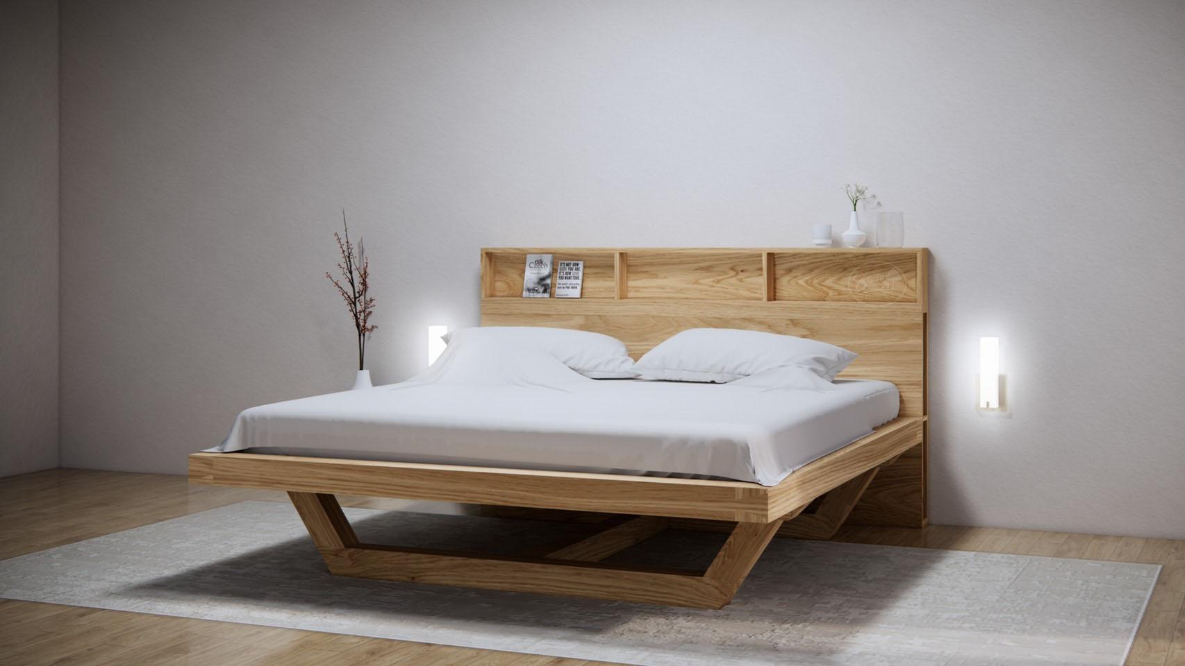 KR122 U Bed -เตียงนอนขา U มีช่องใส่ของ